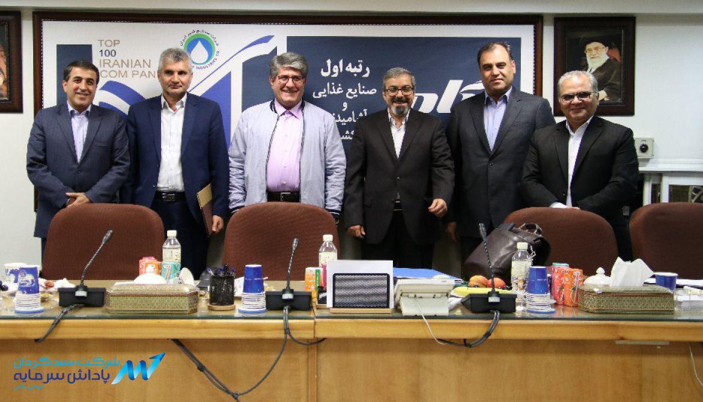 معرفی شرکت های برتر صنایع شیر ایران